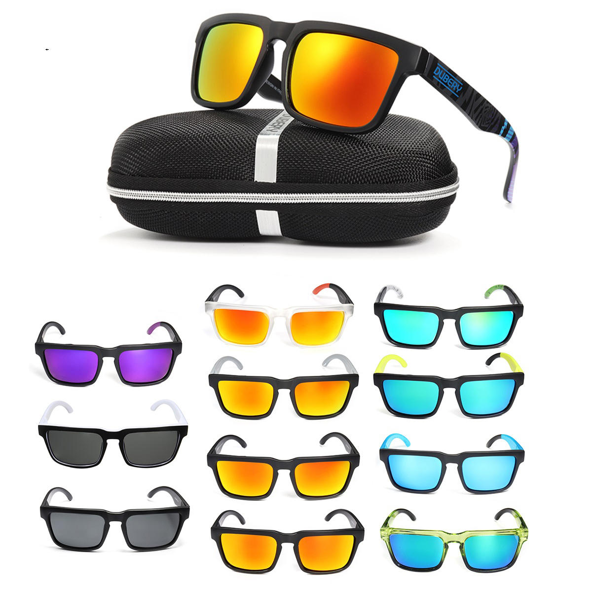 3f0afd7302 Other Warehouse. Send me a coupon on Messenger. DUBERY Unisex UV400  Polarized Sunglasses Sport Driving Fishing Cycling ...