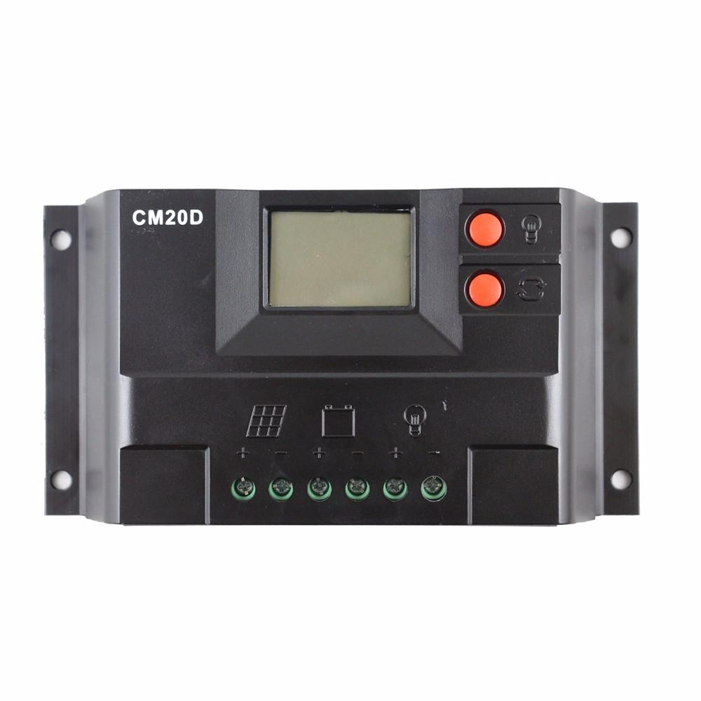 Cm20d 10a 20a Auto 12v 24v Lcd Solar Charge Controller Panel Battery Charger Based Multipurpose Circuit
