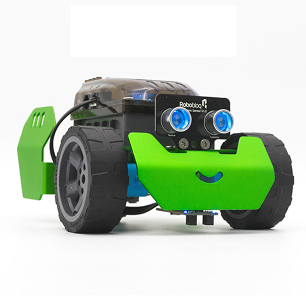 Robobloq Q-Scout DIY Smart RC Robot Car Programmable Tracking APP Control Robot Car Kit