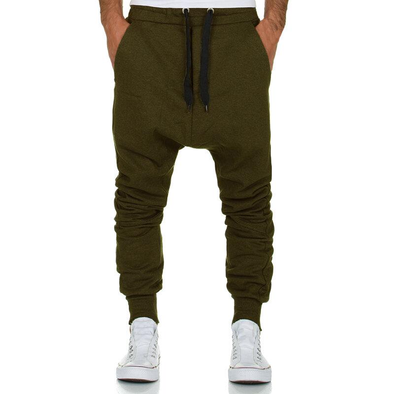 Pantalon d'entraînement long pour jogging pour hommes Sport Fitness Pantalon de survêtement Pantalon élastique