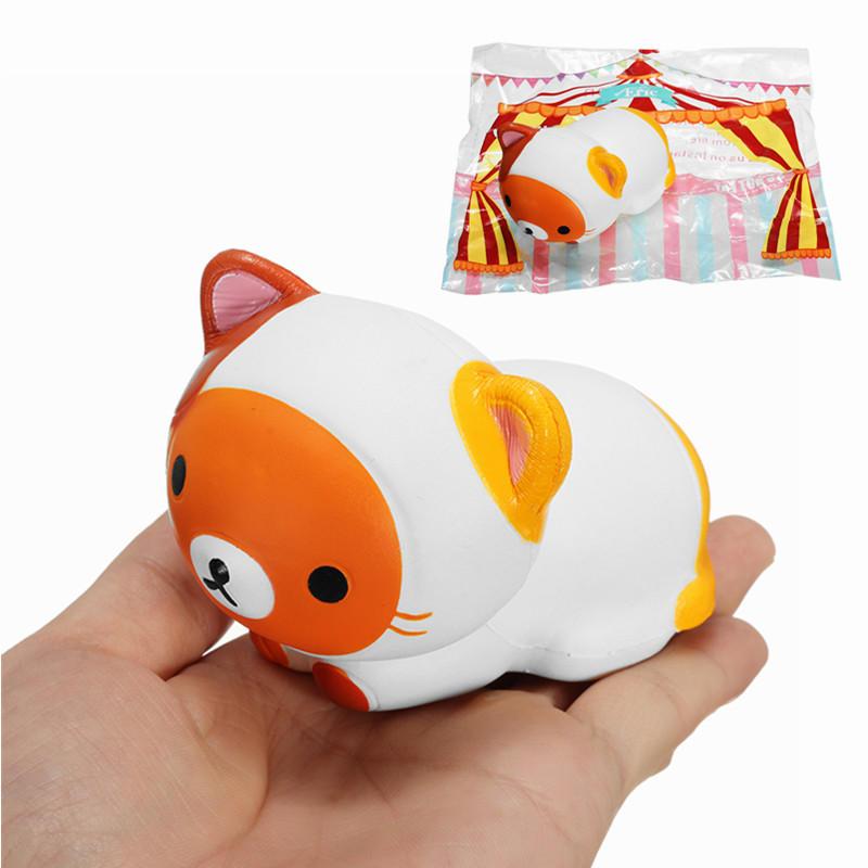 에릭 Squishy 곰 고양이 팜 사위 8cm 천천히 상승 원래 포장 컬렉션 선물 장식 장난감