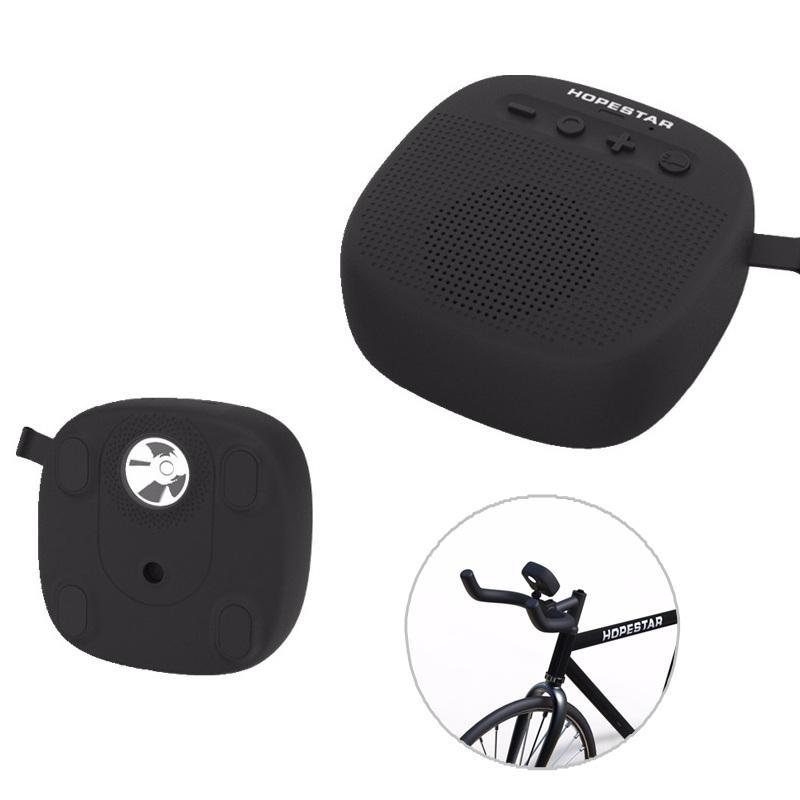 HOPESTAR P9 Портативный Bluetooth Динамик Светодиодный Блок питания FM Радио TF-карта Басовый динамик на открытом воздухе