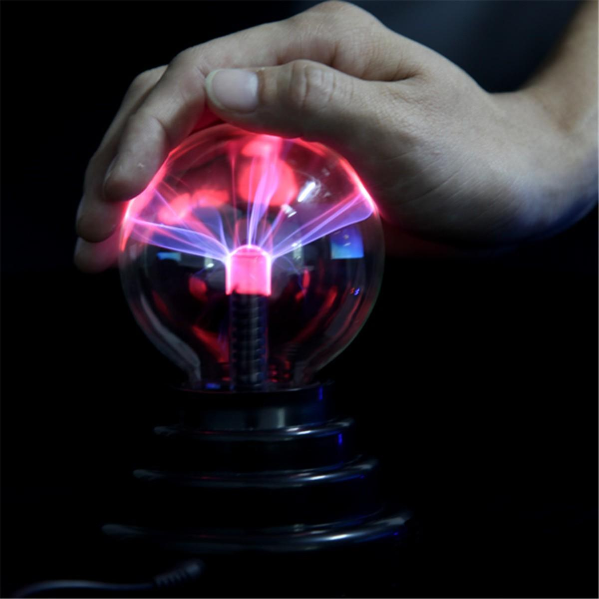 STEM USB Plasma Ball Sphere Lightning Light Magic Crystal Lamp Globe Laptop Decor Novelties Toys