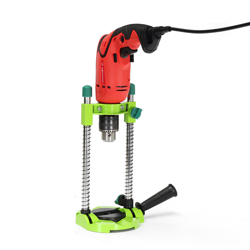 Drillpro Adjustable Angle Drill Jig Holder Guide Stand Drill Positioning Bracket for Electric Drill