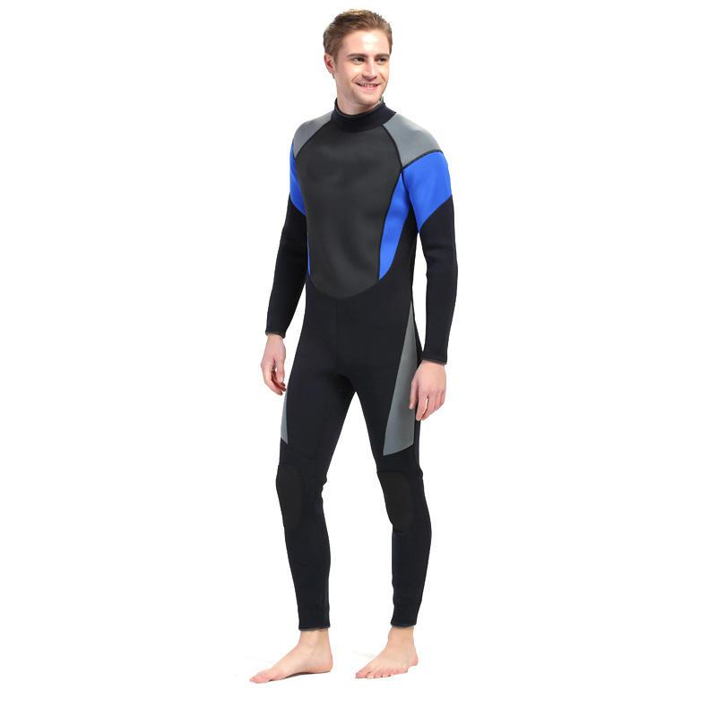 88fd45378f men rubber wetsuit 3mm scuba diving suit jellyfish one piece swimsuits  diving set Sale - Banggood.com sold out