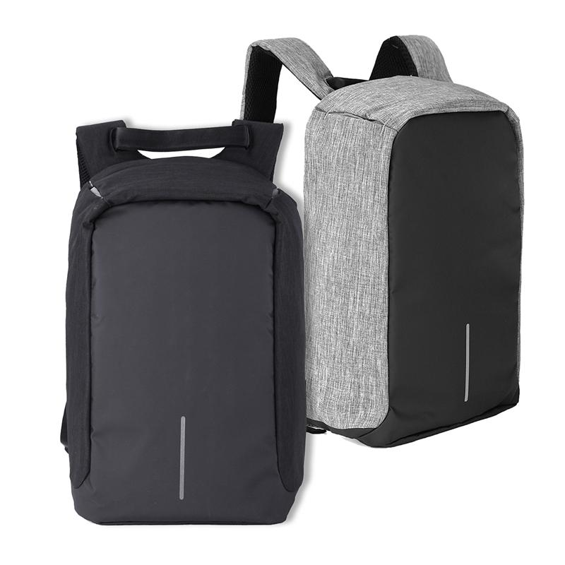 Anti Theft Laptop Notebook Backpack Bag Travel Bag With External USB Charging Port