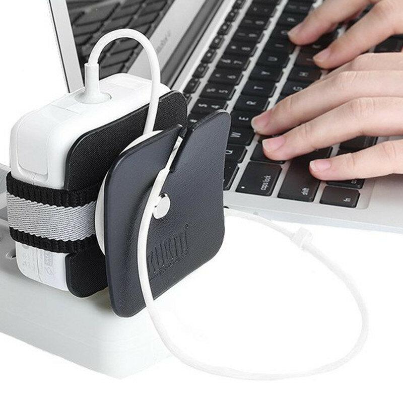 BUBM Мини-портативный кабель Органайзер Зарядное устройство для настольного компьютера Провод Управление