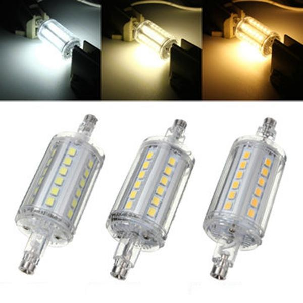 R7S Non-dimmable 78MM LED Bulb 5W 36 SMD 2835 Flood Light Corn Tube Lamp AC 85-265V