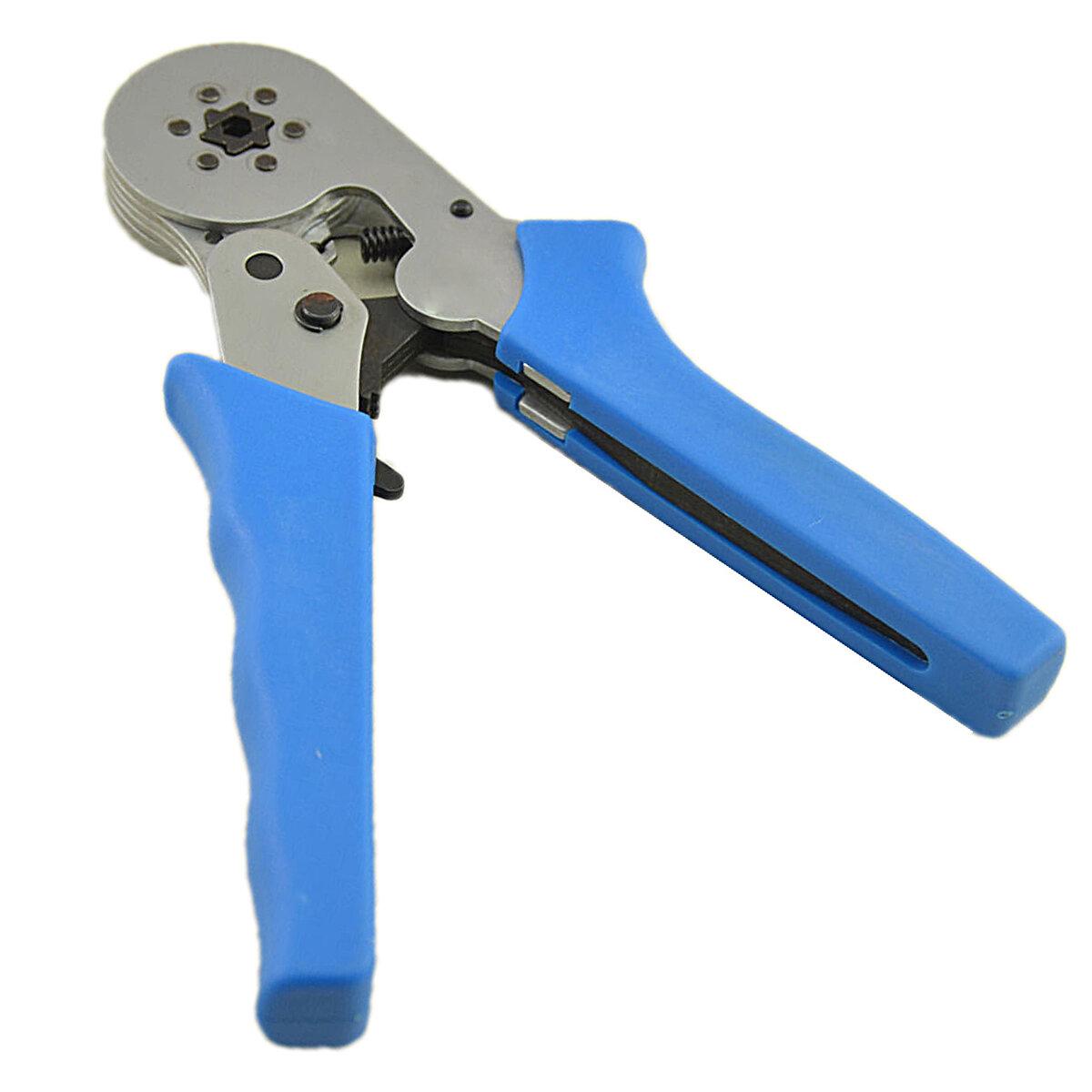 HSC8 6-6 0.25-6.0mm² Crimping Tools Self-adjustable Ratcheting Ferrule Wire Crimper Plier