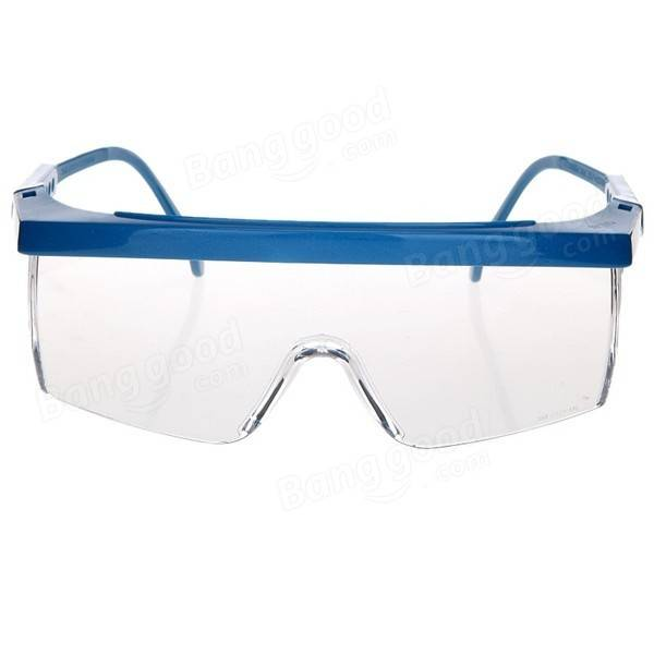 Tools & Workshop Equipment 3m 1711 Anti-shock Wind Uv Protective Glasses Riding Eyewear Goggles Blue Frame Other Personal Protective Equipment