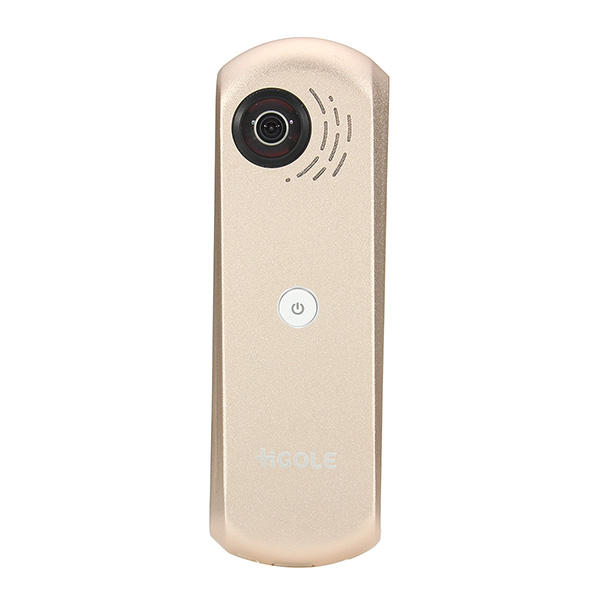HGOLE GOLE GOLE360 360 Degree Dual Lens Panorama VR Type-C Micro USB Action Camera for Android