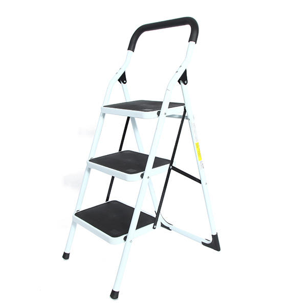 Portable Family Use Ladder 3 Steps Folding Stool Ladders Stair Platform  Homestyle