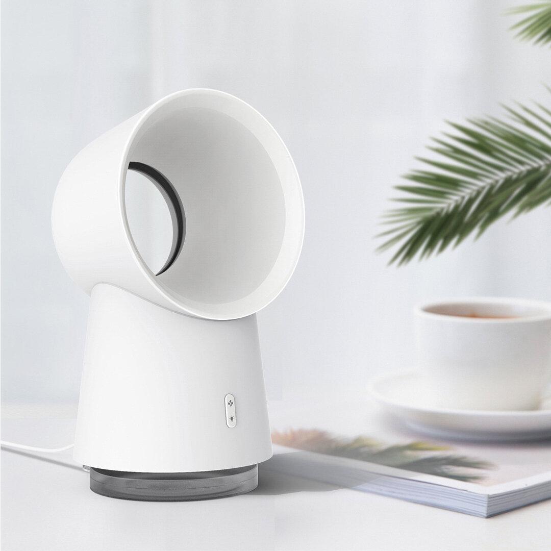 Xiaomi Happy Life 3 in 1 Mini Cooling Fan Bladeless Desktop Fan Mist Humidifier w/ LED Light