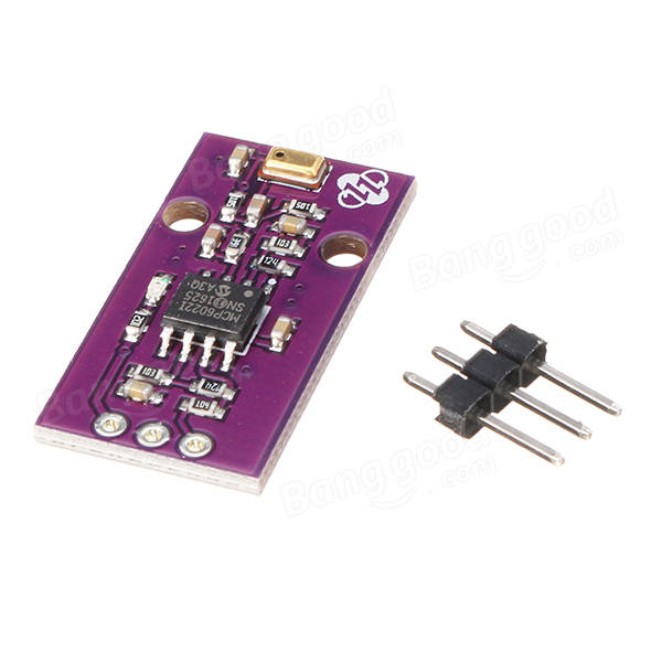 CJMCU-622 MCP6022 MIC Silicon Microphone Sensor Rail à Rail Amplificateur Opérationnel à faible bruit 10 MHz