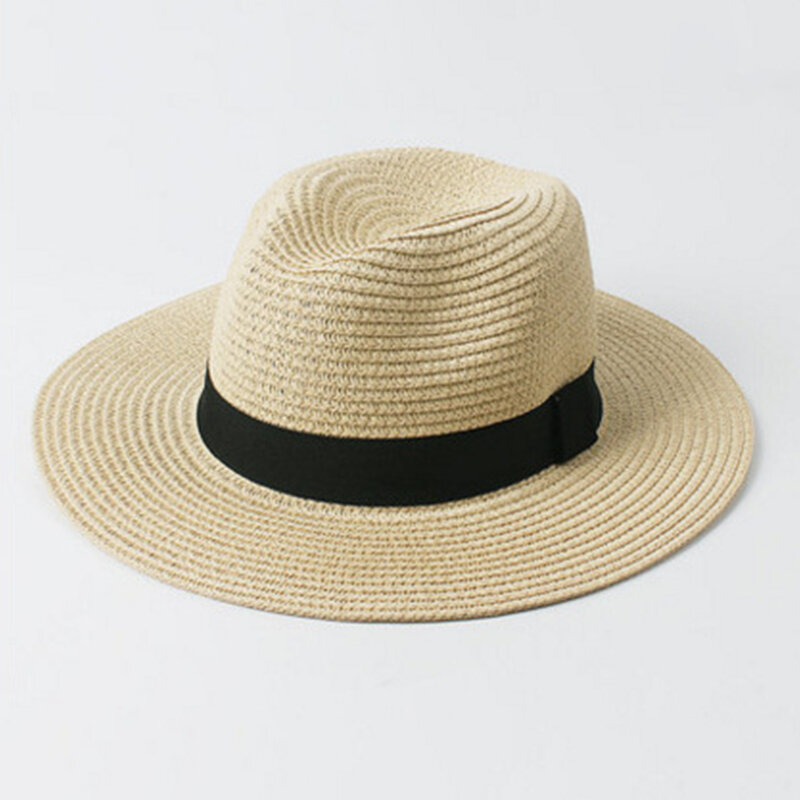 Mens Womens Sun Protection Stetson Hat Outdoor Woven Ligthweight Beach  Panama Caps COD 6904666c461