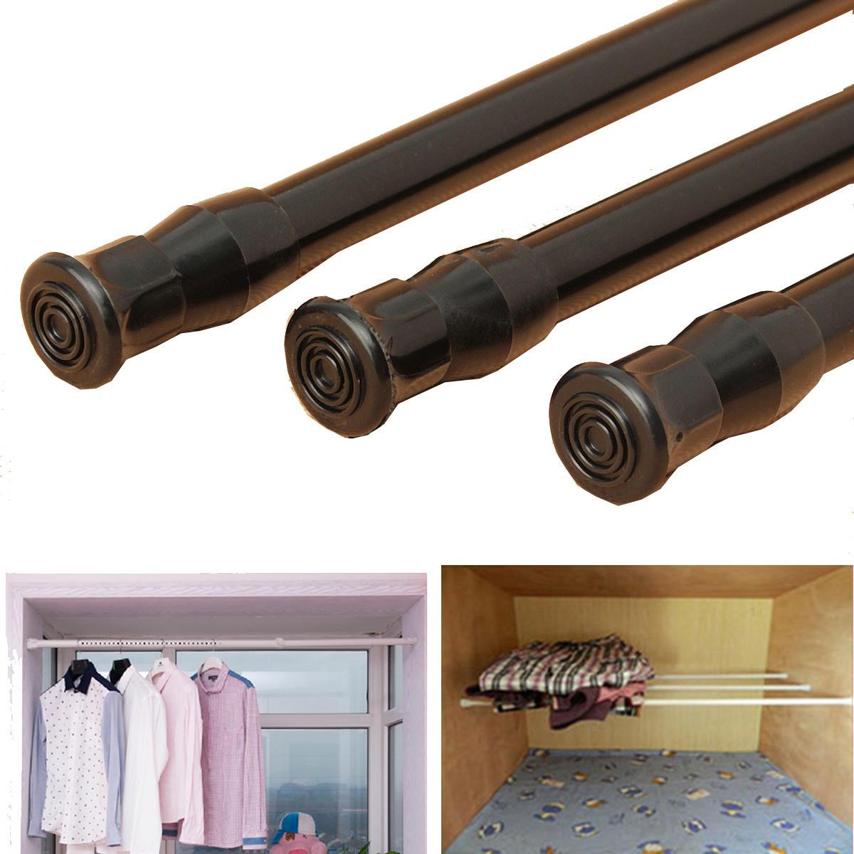 Estensibile finestra tensione della molla regolabile bastone per tende palo doccia asta telescopica bastone per tende