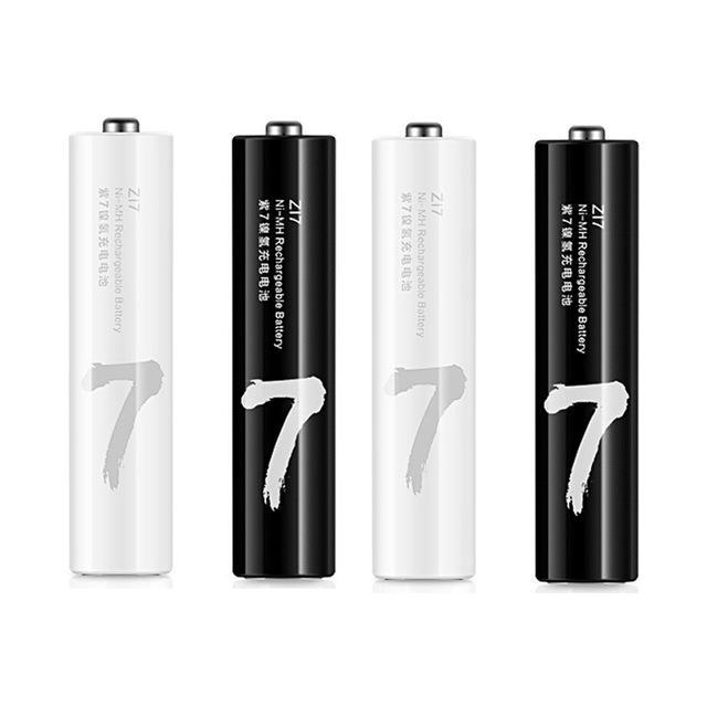 4PCS XIAOMI ZMI Z17 AAA /No.7 1.2V 1800mAh NI-MH保護されていない充電式バッテリ