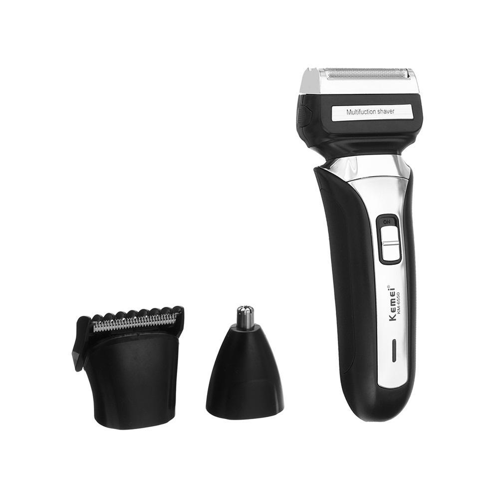Kemei Electric Beard Shaver Razor Cordless Nose Hair Trimmer At Banggood