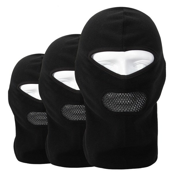 e0a8c13458e fleece balaclava neck cs hat hood outdoor sports ski bicycle full face mask  hat cap Sale - Banggood.com sold out