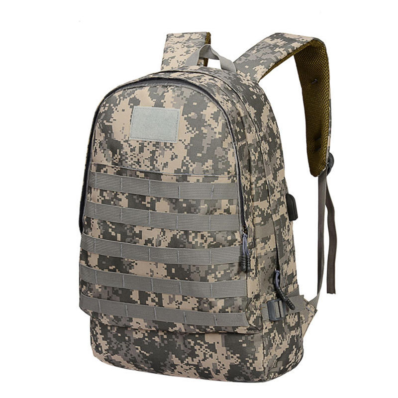 T0065 Oxford Tactical Bag Backpack With Usb Charging Port Big