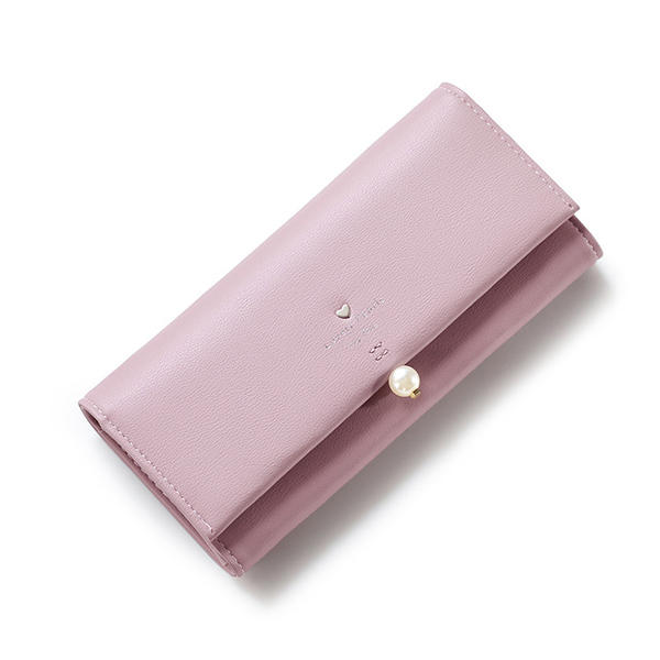 Femmes Pu Cuir Casual Long Wallet Credit Holder voiture