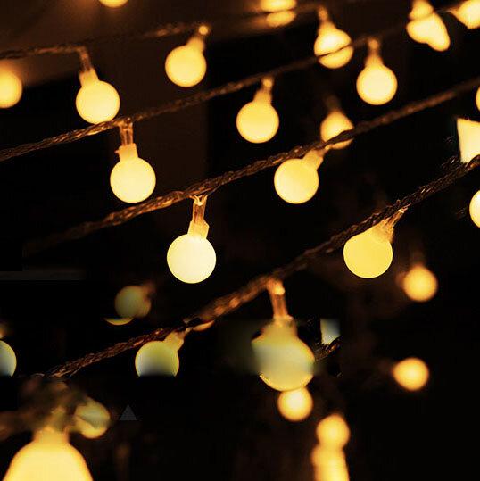 KCASA 10M 100 LED Işıklar Işık 110-220V LED Festival için Peri Işıkları Noel Dekorasyonu
