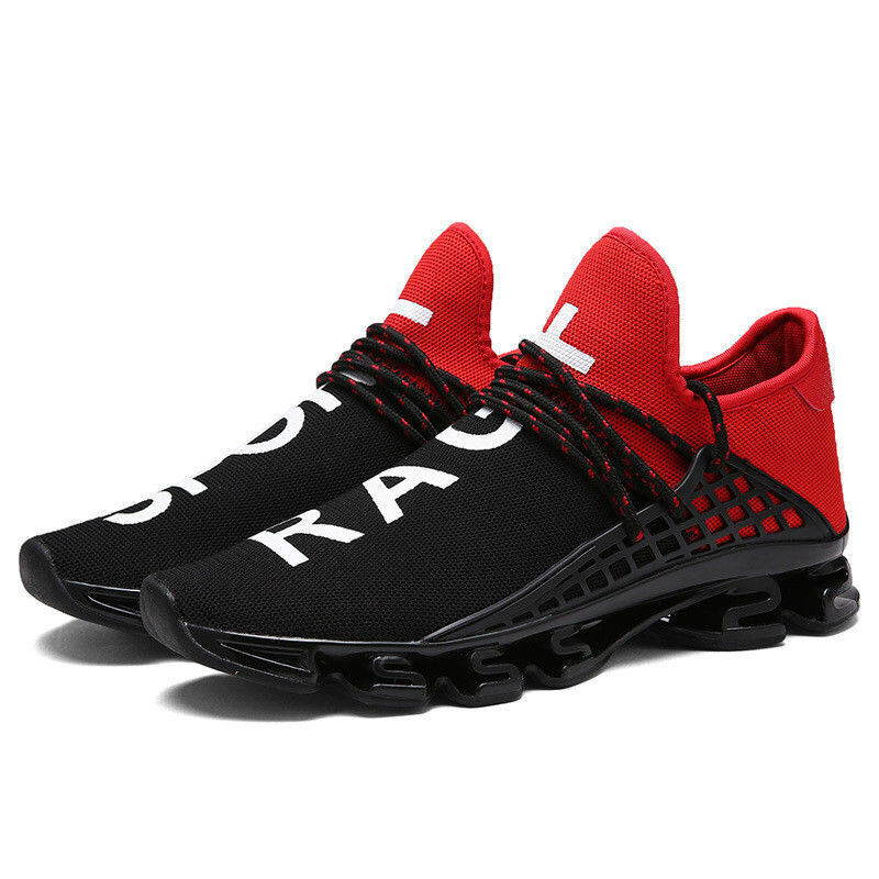 Blade Runner Male Breathable Flying Weave Running Shoes Shock Absorber Sneakers  Size 38-44 COD 172634274de