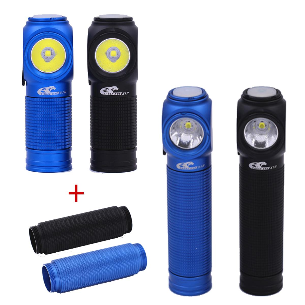 Eagle Eye X1R CW Flashlight Black