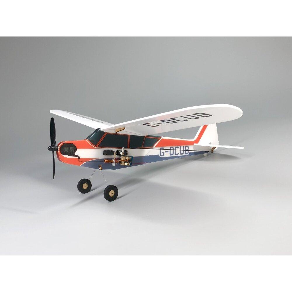 J3-Cub MinimumRC Bankyard Flyer 360mm Wingspan RC Airplane KIT/PNP