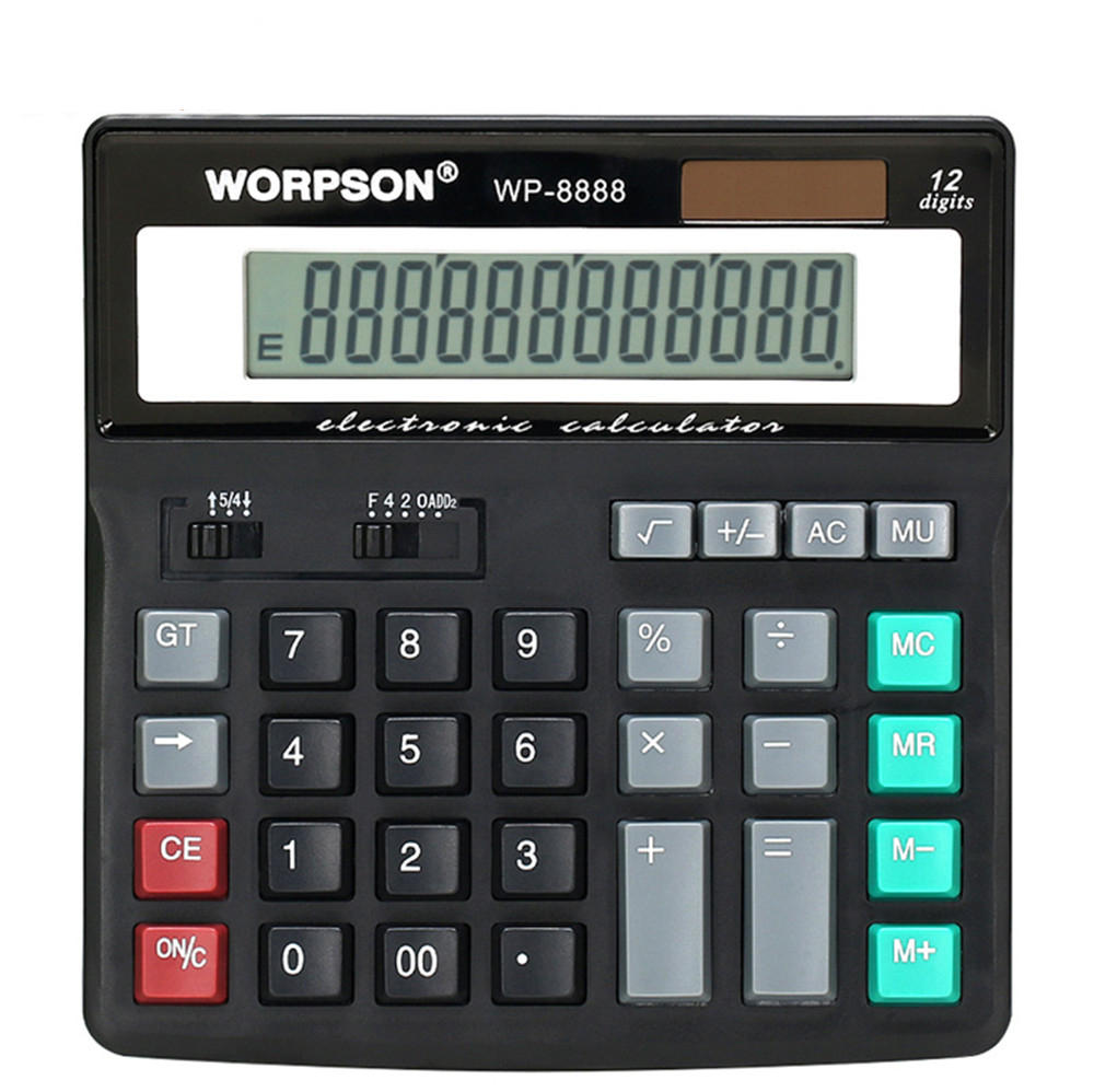 worpson wp 8888 desktop computer business financial calculator sale