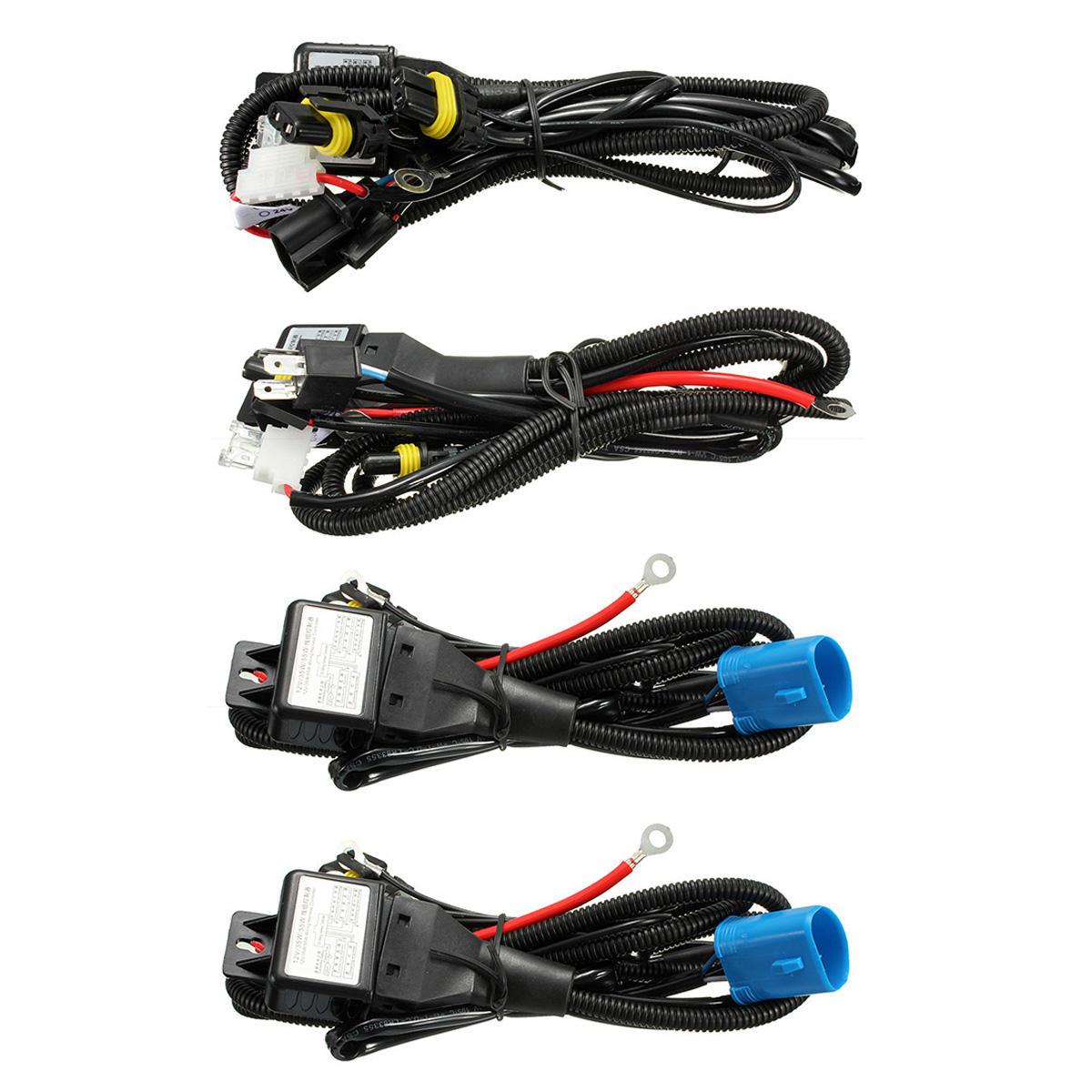 H4 9003 9004 9007 H13 9008 Hid Bi Xenon Bulb Relay Controller Wiring Harness Sale