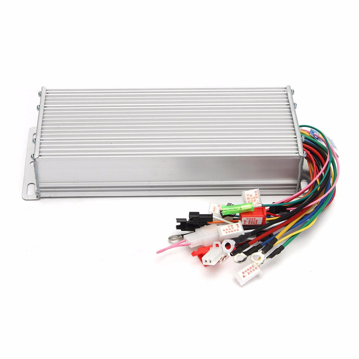Dc 48v 1500w Brushless Motor Controller For E Bike Scooter Electric Drill Wiring Diagram Bicycle