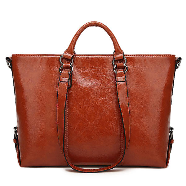 102b634c8af1 Women Fashion Minimalist Handbag Leisure Business Shoulder Bag Tote Bag COD