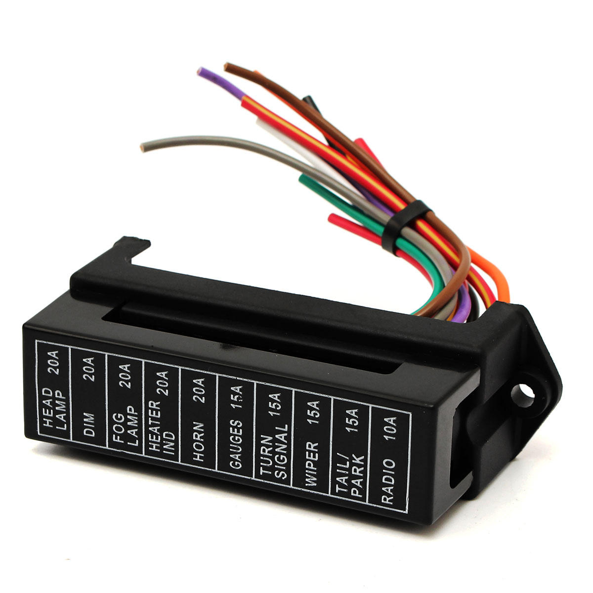 Tremendous 32V 12 Way Circuit Car Boat Automotive Blade Fuse Box Block Holder Wiring 101 Akebretraxxcnl