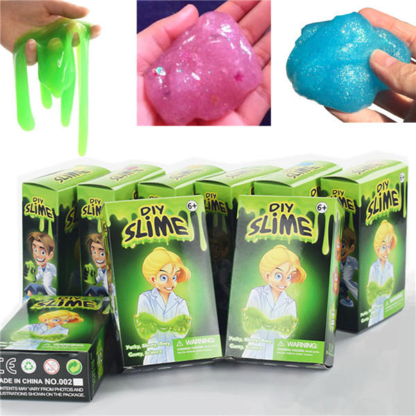 Slime Kit Kids Gloop Sensory Diy Jouer Jouet Science Jeux Fun Vente