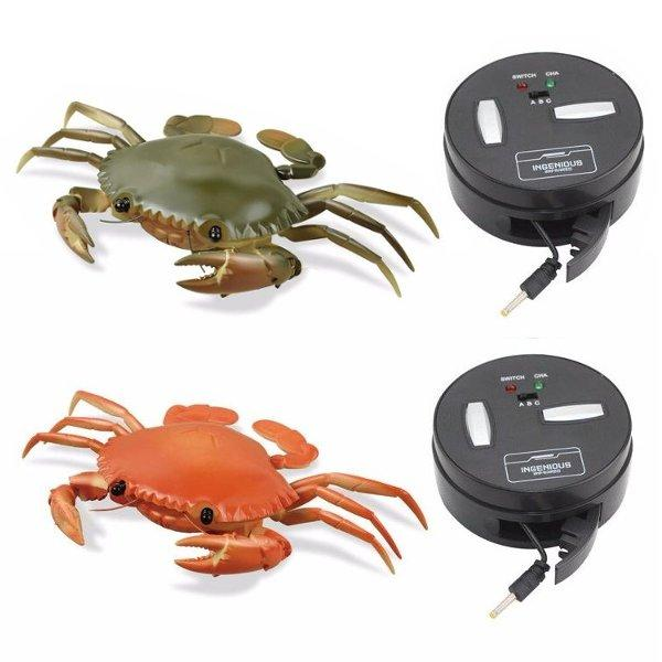 Electronic Toys Electronic Pets Animal Crab Toy Kid Solar Powered Mini Kit Novelty Power Electronic Pets Crab Robot Educational Gadget Toy For Children Gift
