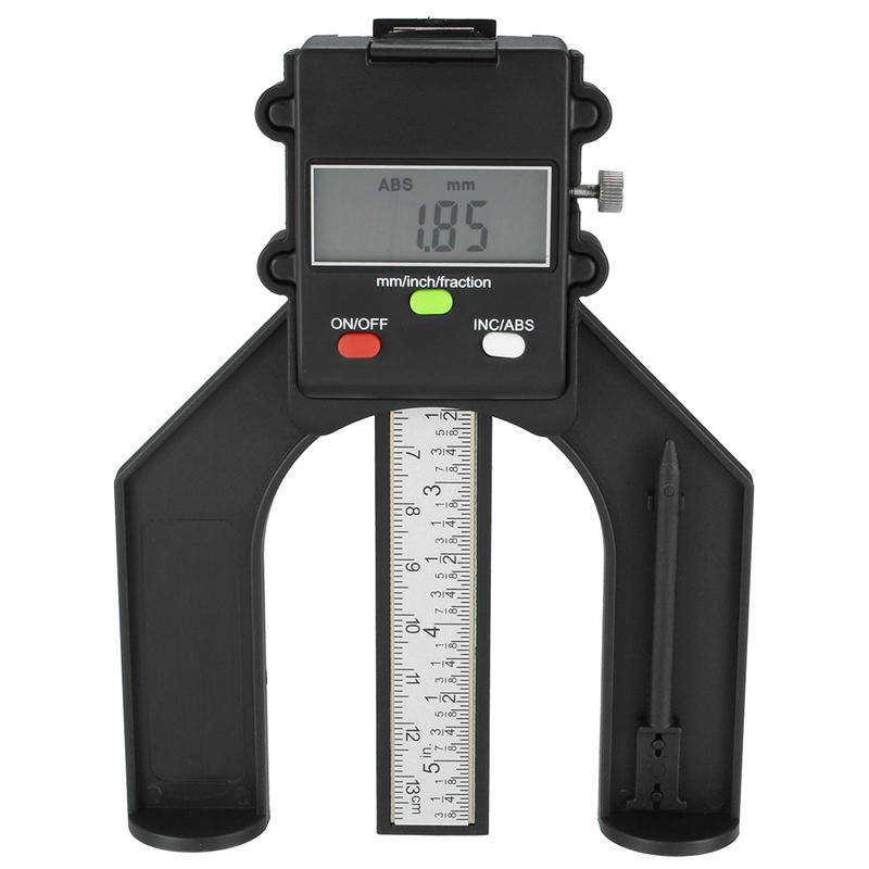 Measuring & Gauging Tools Gauges Electronic Digital Depth Gauge 0-80mm Lcd Height Calipers With Magnetic Feet For Router Tables Diy Woodworking Measuring Tools