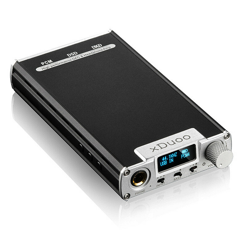 XDuoo XD-05 Portable Audio AMP DAC Headphone Amplifier Support Native DSD Decoding 32bit/384khz