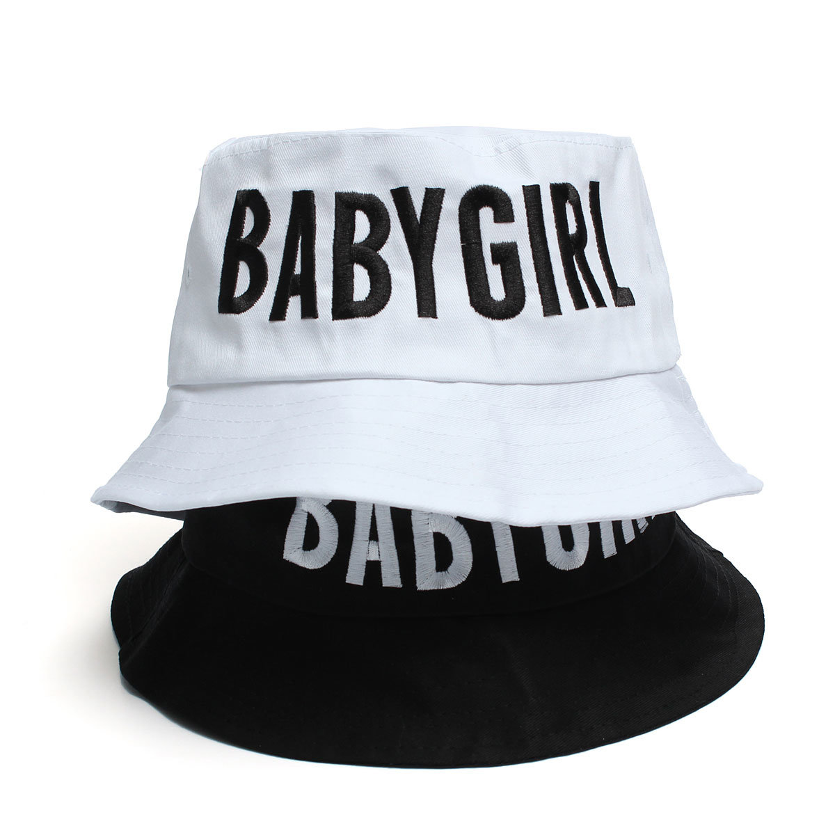 babygirl style women s boonie fishing bucket hat letters casual outdoor cap  at Banggood sold out c1672f7ab5