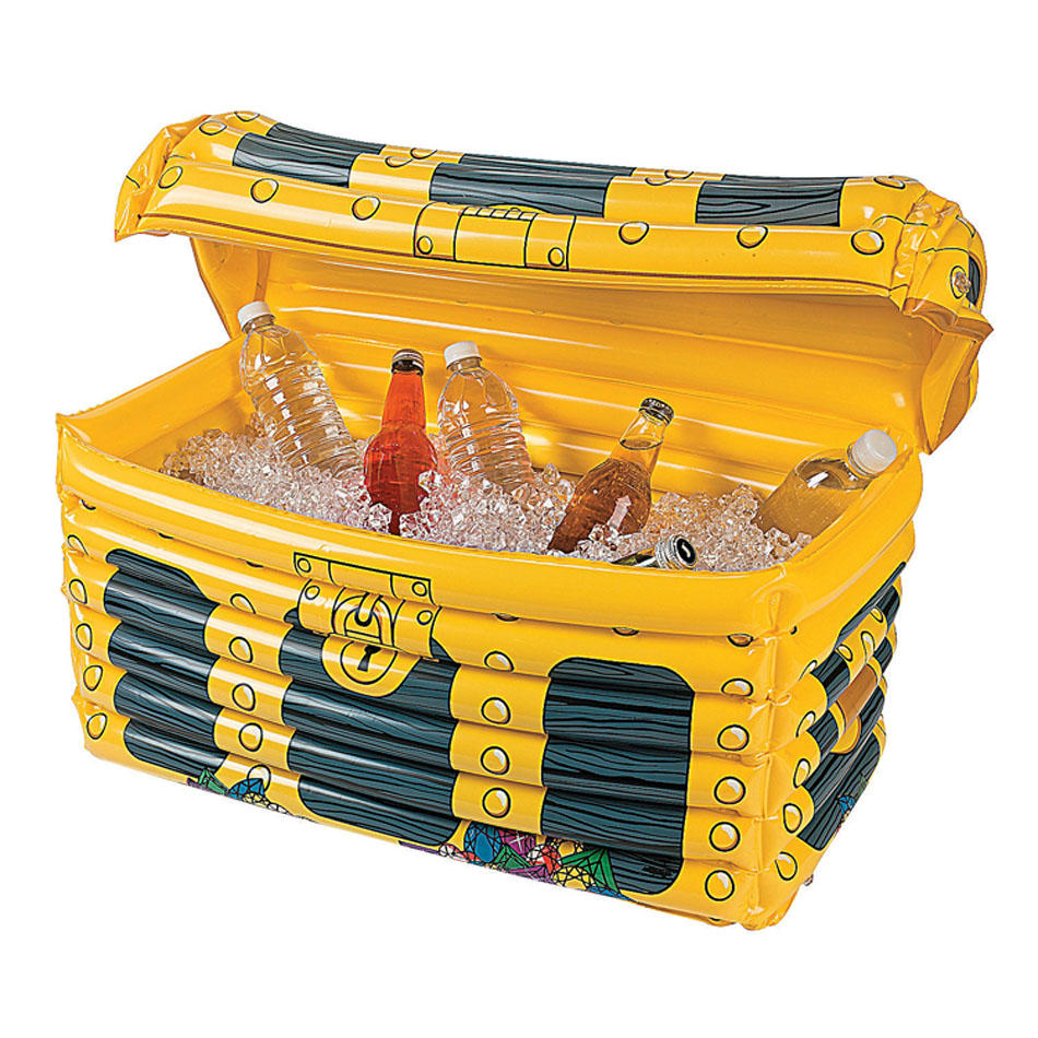 IPRee™ PVC Inflatable Ice Bucket Pail Summer Holiday Party Water Fun Drink Beer Holder Case
