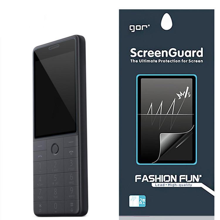 2PCS GOR Clear Anti-Scratch Soft Screen Protector For Xiaomi Qin 1S / Xiaomi Qin 1S+ / Xiaomi QF9v