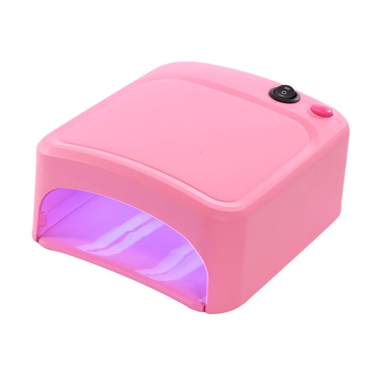 36w Uv Lamp Nail Polish Light Dryer Gel Curing With Timer Manicure