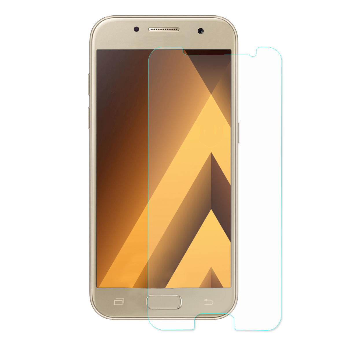 Hat Prince Scratch-resistant Slim Screen Protector Tempered Glass Film for Samsung Galaxy A3(2017)