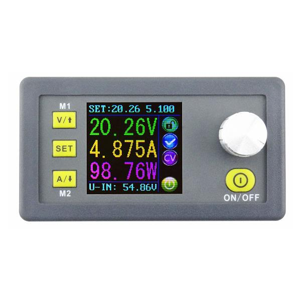 RUIDENG DPS5005 50V 5A Buck Adjustable DC Constant Voltage Power Supply Module Integrated Voltmeter Ammeter With Color Display