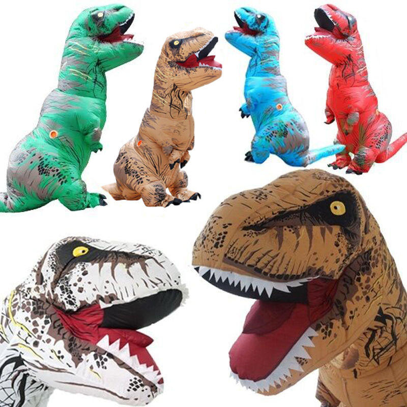 Christmas Inflatable Clothing Dinosaur Adult Models Air -6545