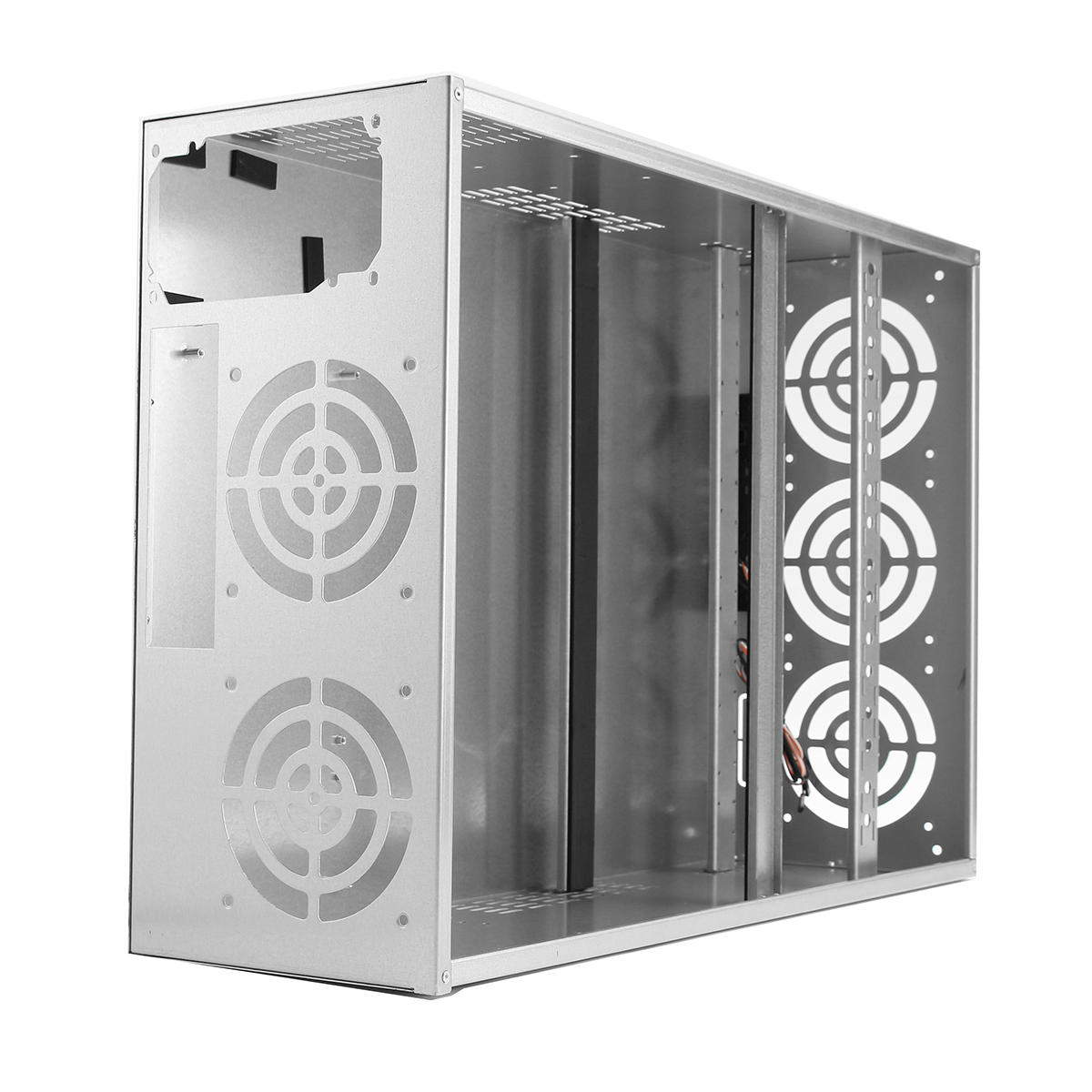Crypto Coin Open Air Mining Frame Rig Graphics Case pour 6-8 GPU ETH BTC Ethereum