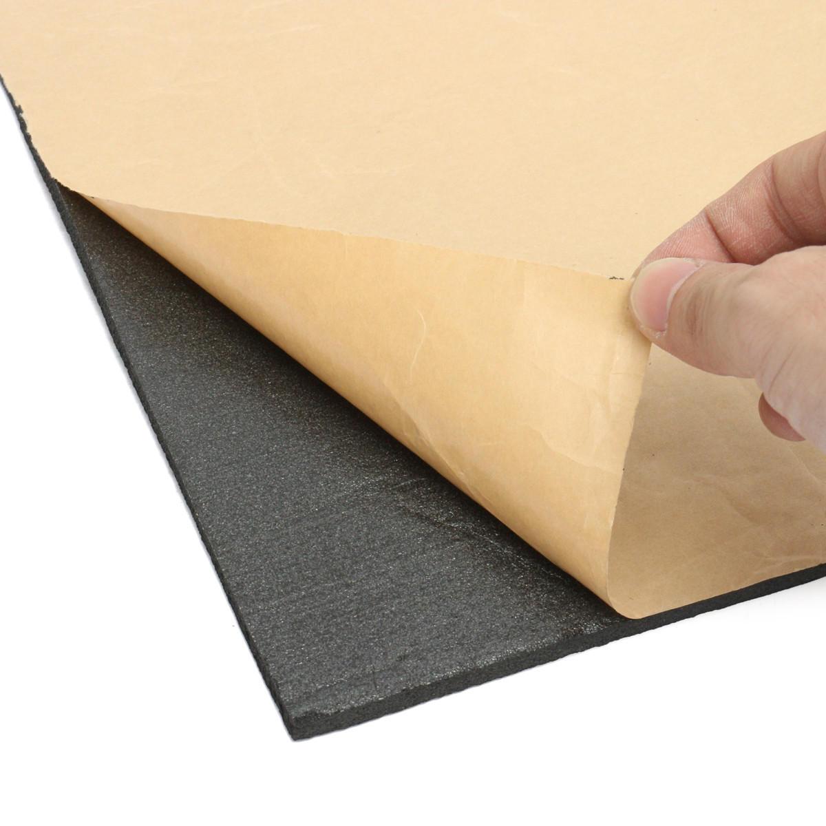 9 Blatt 40x30cm Schalldämmung Wärmeschutzschaum Schallschutzmaterial