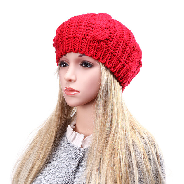 abbf4caa744 Other Warehouse. Send me purchase update on Messenger. Unisex Knitted  Crochet Hole Beanie Hat Knitting Foldable Elastic ...