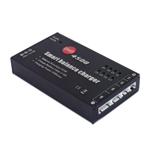 Upgraded DHD 450B 50W 4A Balance Charger For 1-4S LiPo LiFe Battery