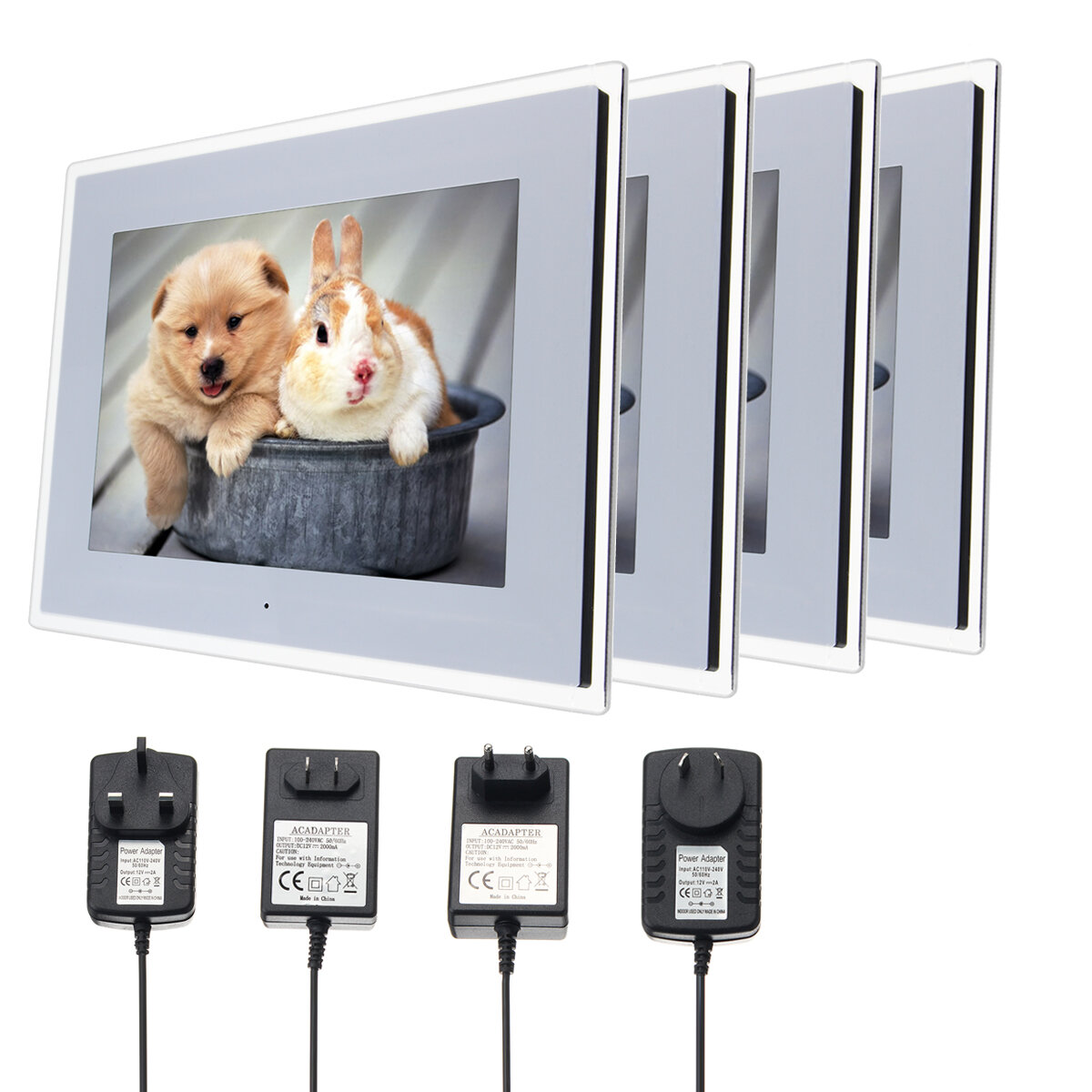 15 inch HD Digital Photo Frame Gallery Advertising Machine With 8G ...